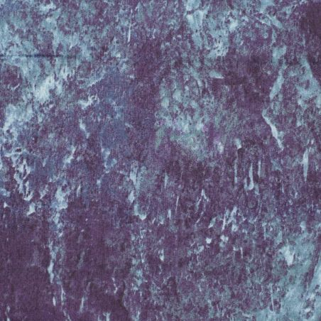 Coton patchwork marbré gris