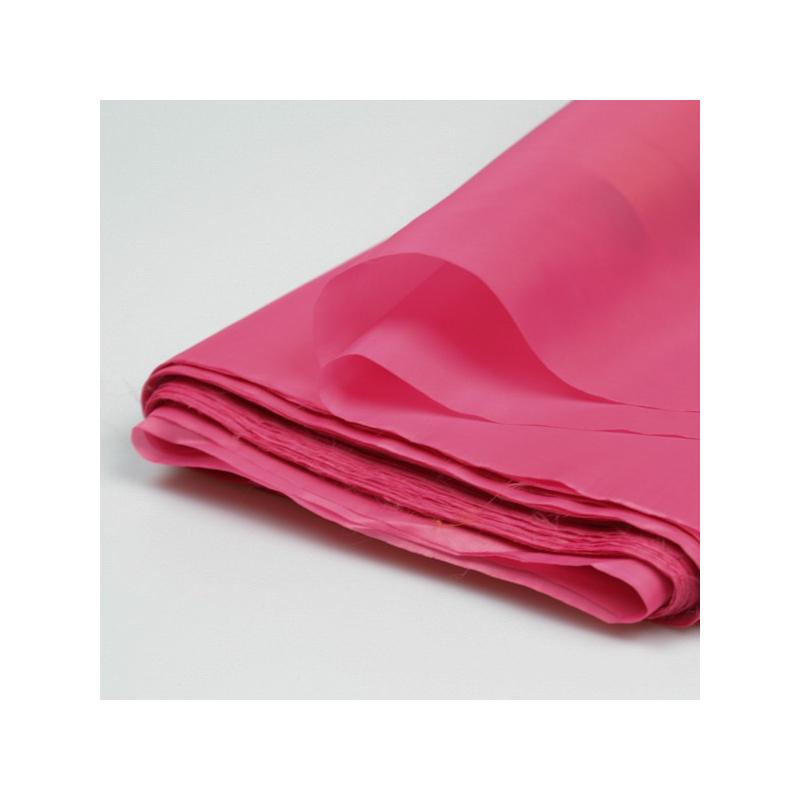 Doublure unie rose bonbon
