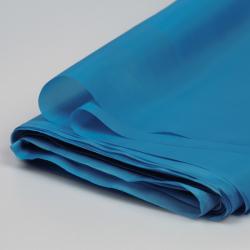 Doublure unie bleu céruléen