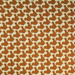 Coton imprimé motifs écureuils