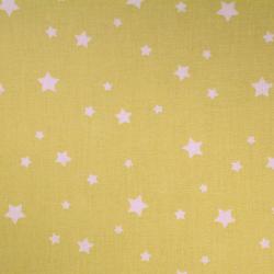 Coton imprimé motifs étoiles