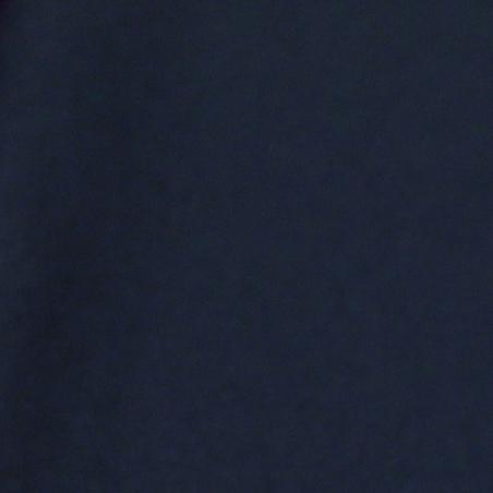 Lainage uni bleu marine - Haute couture