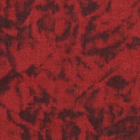 Coton patchwork marbré cerise zoom