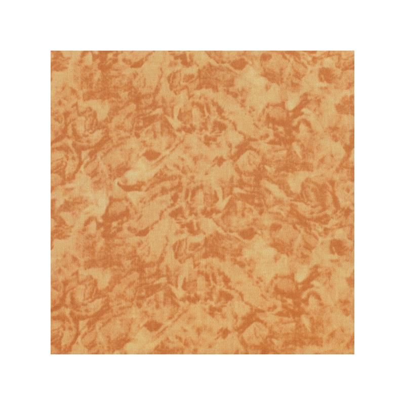 Coton patchwork marbré couleur cuir