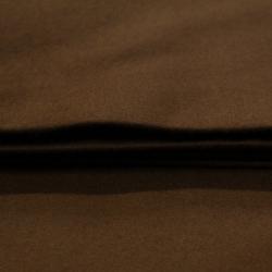 Lainage mlifa uni marron - Laine et cachemire