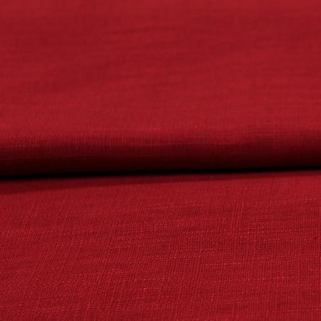 Lin uni rouge hermès