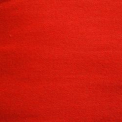 Toile chaise longue uni rouge
