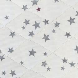 Tissus matelassé imprimé étoiles